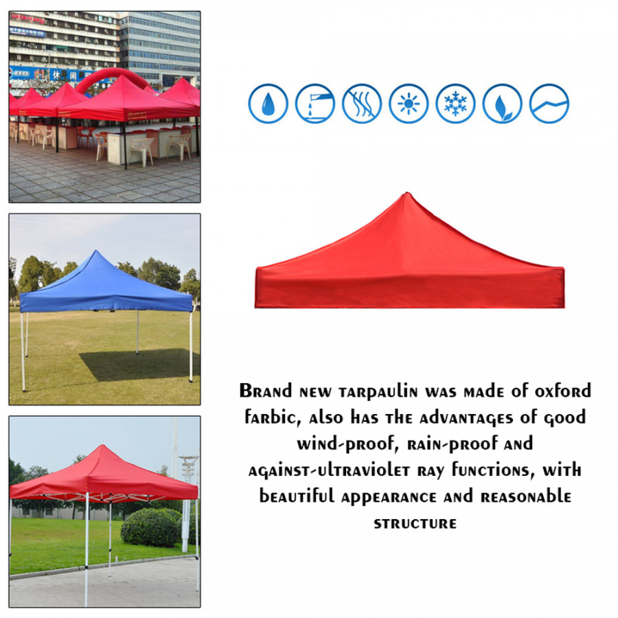Folding Canopy Tent Cover Sunshade Waterproof Practical Outdoor Oxford Farbic Printable Advertisement Tarpaulin - 2261544 , 3914758240823 , 62_14490173 , 678000 , Folding-Canopy-Tent-Cover-Sunshade-Waterproof-Practical-Outdoor-Oxford-Farbic-Printable-Advertisement-Tarpaulin-62_14490173 , tiki.vn , Folding Canopy Tent Cover Sunshade Waterproof Practical Outdoor O