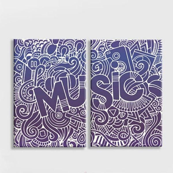 """Bộ 2 Tranh Canvas Không Viền Quán Cafe """"I Love Music"""" W169 - 1045853 , 6493222095000 , 62_6399651 , 676000 , Bo-2-Tranh-Canvas-Khong-Vien-Quan-Cafe-I-Love-Music-W169-62_6399651 , tiki.vn , Bộ 2 Tranh Canvas Không Viền Quán Cafe """"I Love Music"""" W169"""