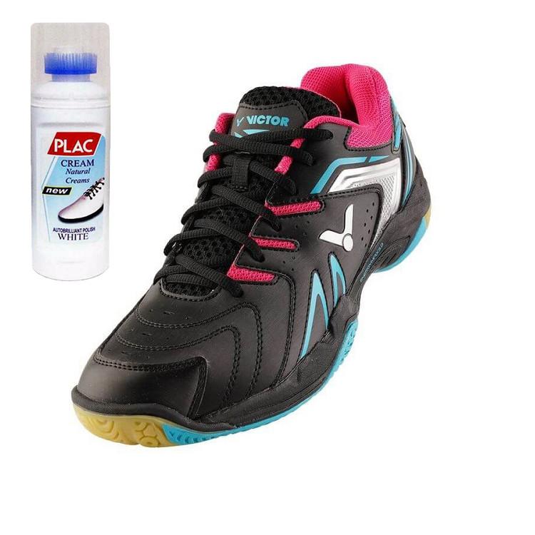 Giày Cầu lông Nam Victor chính hãng 610C - Tặng bình làm sạch giày cao cấp