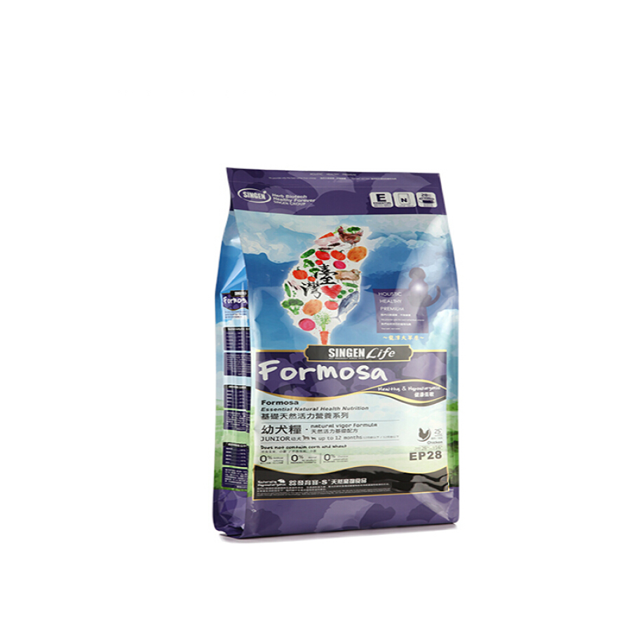 Cell development treasure-S pet puppies with dog food 1kg large and medium-sized 1-12 months young dog general-purpose natural staple food...