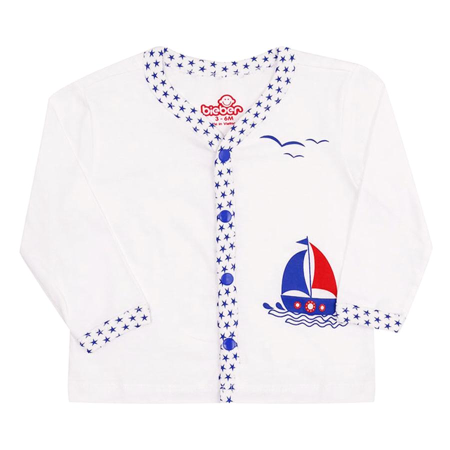 Áo Bé Trai Thuyền Buồm Và Hải Âu Bieber BI0260