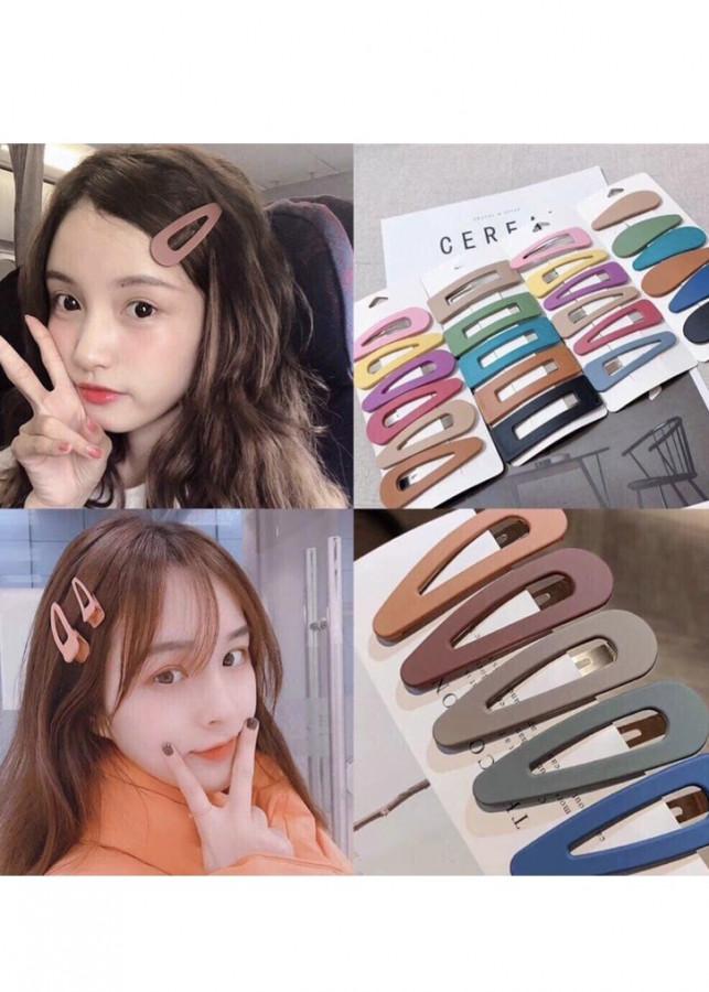 Kẹp tóc oval màu nhám trơn - set 2 màu bất kì - 816761 , 4195207962117 , 62_15307931 , 39000 , Kep-toc-oval-mau-nham-tron-set-2-mau-bat-ki-62_15307931 , tiki.vn , Kẹp tóc oval màu nhám trơn - set 2 màu bất kì