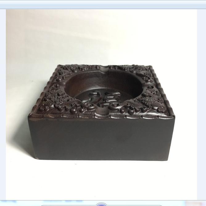 Gạt tàn thuốc lá vuông gỗ mun nguyên khối mặt chạm chữ phong thủy - ảnh thật - 7302053 , 6290643668505 , 62_14939111 , 390000 , Gat-tan-thuoc-la-vuong-go-mun-nguyen-khoi-mat-cham-chu-phong-thuy-anh-that-62_14939111 , tiki.vn , Gạt tàn thuốc lá vuông gỗ mun nguyên khối mặt chạm chữ phong thủy - ảnh thật
