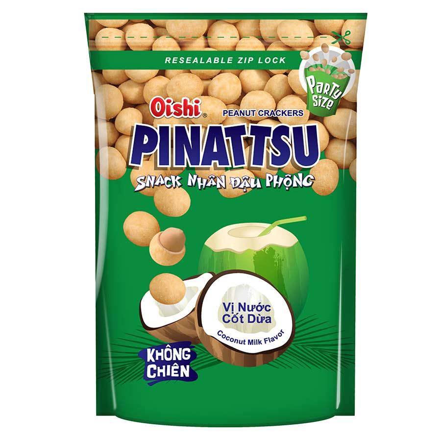 Snack Đậu Phộng Vị Nước Cốt Dừa Pinattsu Oishi (95g / Gói) - 7258095 , 1144388040124 , 62_14659284 , 11000 , Snack-Dau-Phong-Vi-Nuoc-Cot-Dua-Pinattsu-Oishi-95g--Goi-62_14659284 , tiki.vn , Snack Đậu Phộng Vị Nước Cốt Dừa Pinattsu Oishi (95g / Gói)