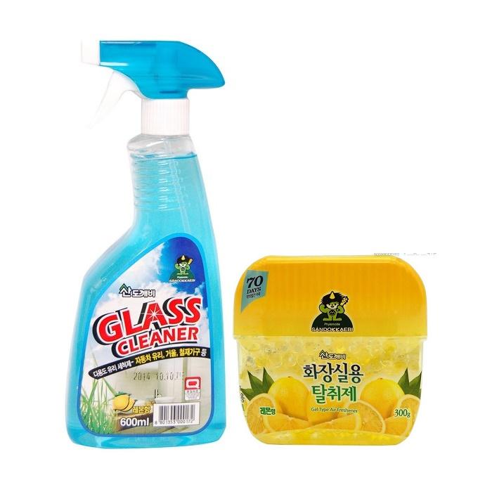Combo 01 chai xịt tẩy rửa, vệ sinh kính Sandokkaebi 600ml Hàn Quốc + 01 Hộp sáp thơm khử mùi Sandokkaebi 300g Ô Tô/ Xe hơi - 2049169 , 2158733977231 , 62_12298952 , 300000 , Combo-01-chai-xit-tay-rua-ve-sinh-kinh-Sandokkaebi-600ml-Han-Quoc-01-Hop-sap-thom-khu-mui-Sandokkaebi-300g-O-To-Xe-hoi-62_12298952 , tiki.vn , Combo 01 chai xịt tẩy rửa, vệ sinh kính Sandokkaebi 600ml