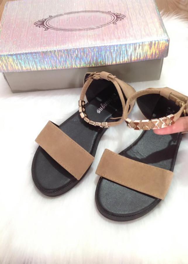 Giày Sandal Nữ Đế Thấp