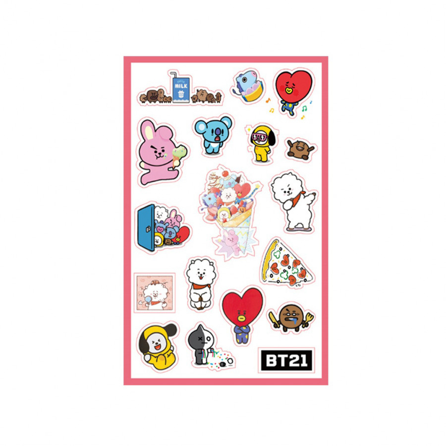 Sticker BT21 BTS siêu cute - 2153642 , 8186339096463 , 62_14334606 , 25000 , Sticker-BT21-BTS-sieu-cute-62_14334606 , tiki.vn , Sticker BT21 BTS siêu cute