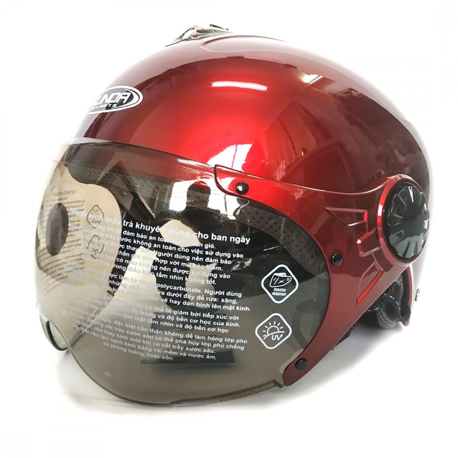 Mũ bảo hiểm có kính SUNDA 137A - 9907528 , 8860710477316 , 62_19760773 , 390000 , Mu-bao-hiem-co-kinh-SUNDA-137A-62_19760773 , tiki.vn , Mũ bảo hiểm có kính SUNDA 137A