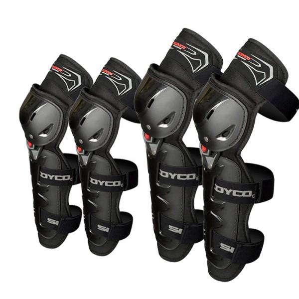 Bộ giáp bảo vệ chân tay 4 món Scoyco K11H11-2