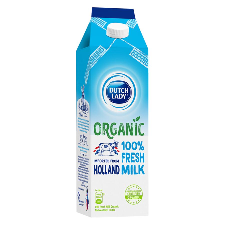 Sữa Tươi Tiệt Trùng Dutch Lady Organic (1L) - 1576580 , 8718182063110 , 62_10365765 , 55000 , Sua-Tuoi-Tiet-Trung-Dutch-Lady-Organic-1L-62_10365765 , tiki.vn , Sữa Tươi Tiệt Trùng Dutch Lady Organic (1L)