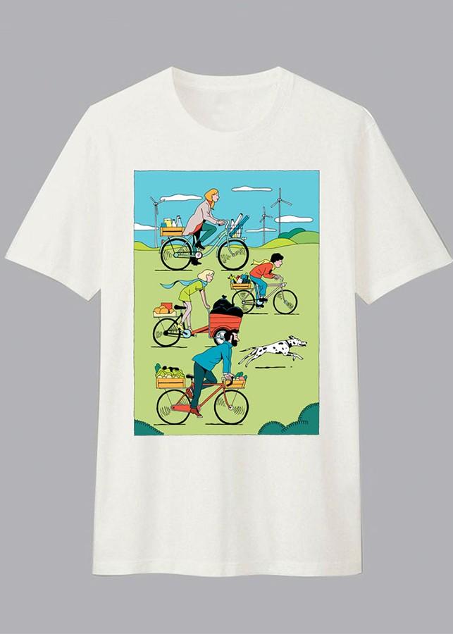 Áo thun Gia Đình Unisex Dotilo Tshirt FAMILY RUN  - fm3