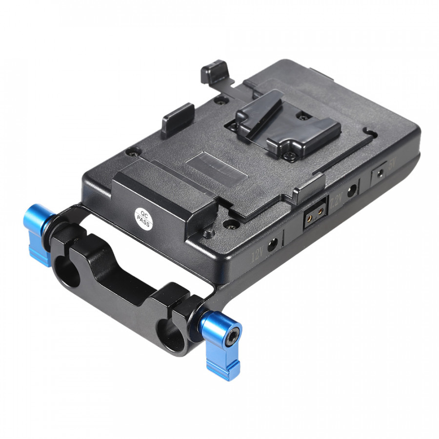 Bộ Chuyển Đổi Pin Cho Canon 5D2/5D3/60D/7D6D/DSLR Sony V-Mount