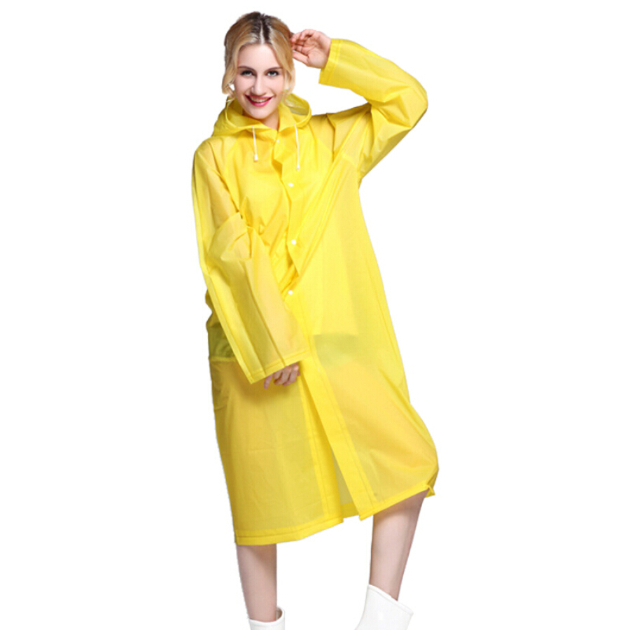 Ke Rui Yu raincoat non-disposable rain gear water trekking riding wind and rain children adult outdoor travel poncho light and easy to carry...