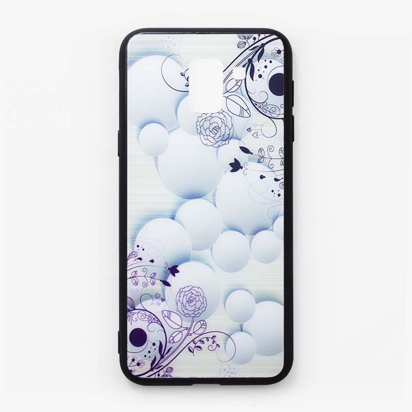 Ốp lưng dành cho Samsung Galaxy J6 2018 họa tiết Hoa