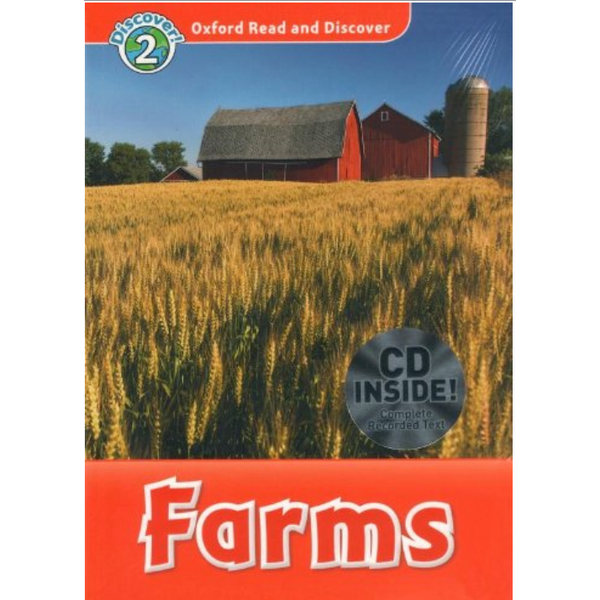 Oxford Read and Discover 2: Farms Audio CD Pack - 1096446984829,62_2607315,347000,tiki.vn,Oxford-Read-and-Discover-2-Farms-Audio-CD-Pack-62_2607315,Oxford Read and Discover 2: Farms Audio CD Pack