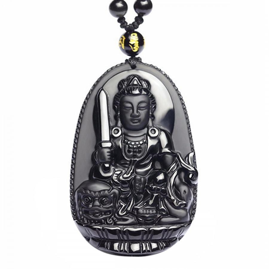 Phật bản mệnh tuổi Mão - Văn thù Bồ Tát Đá núi lửa