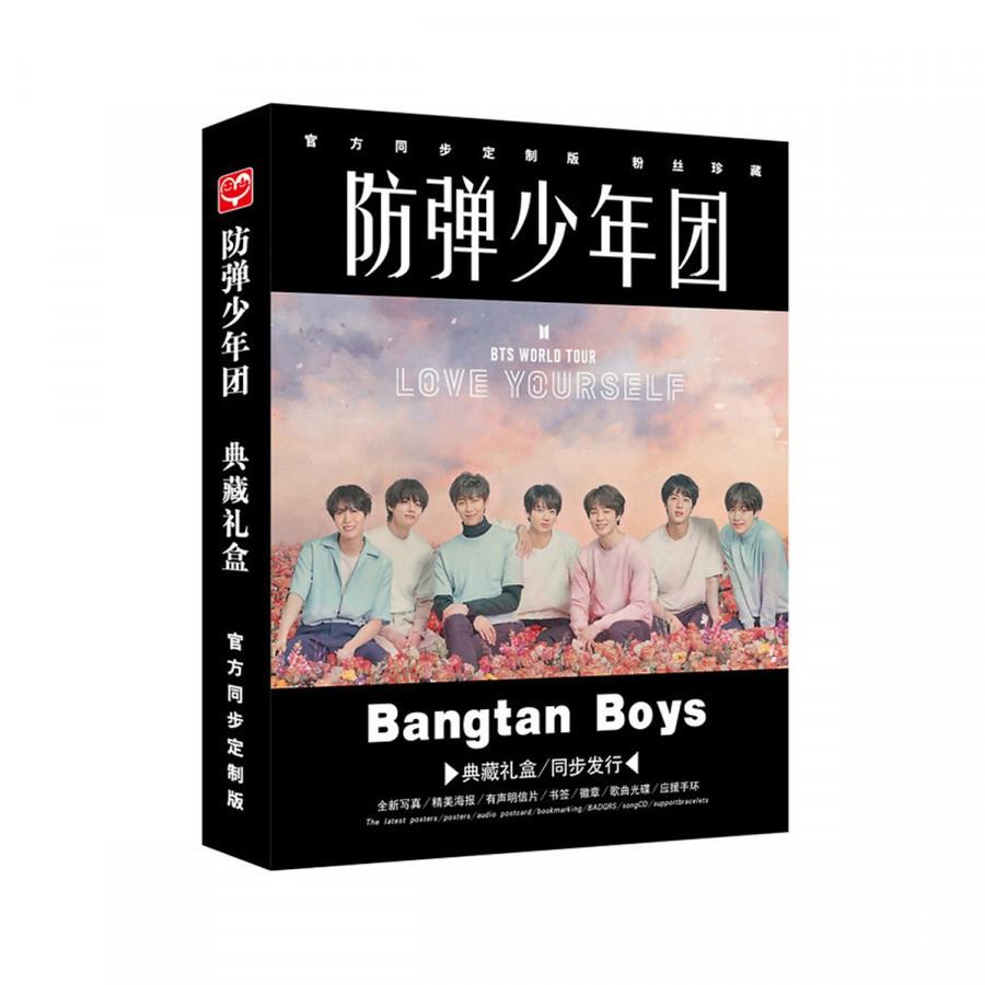 Combo Photo Album Kèm Hộp Đựng Goods BTS Love Yourself ( tặng hình dán tatoo )