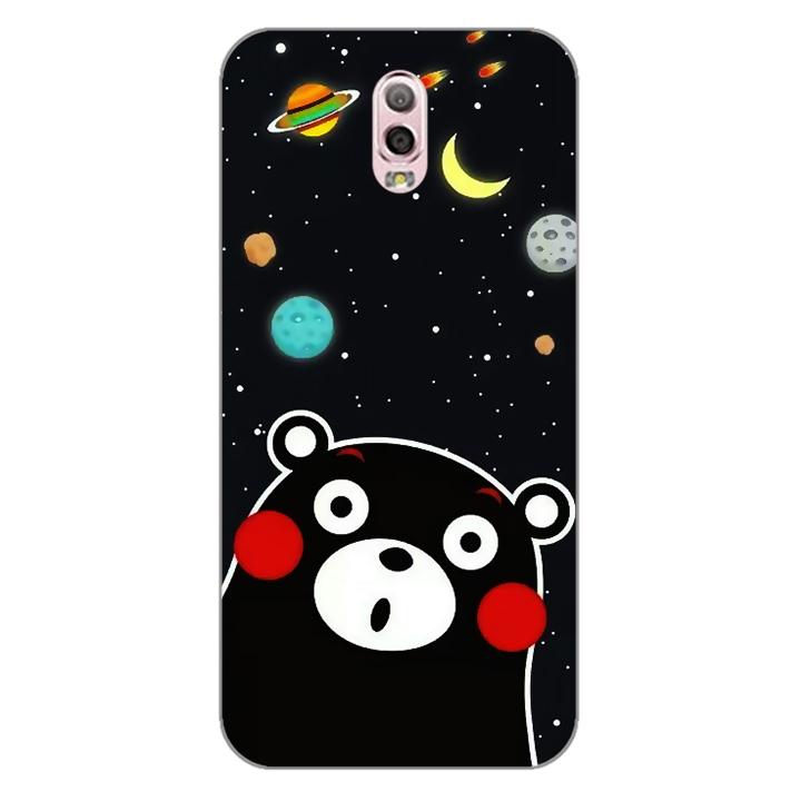 Ốp lưng dẻo Nettacase cho điện thoại Samsung Galaxy J7 Plus _0345 BEAR03 - Hàng Chính Hãng