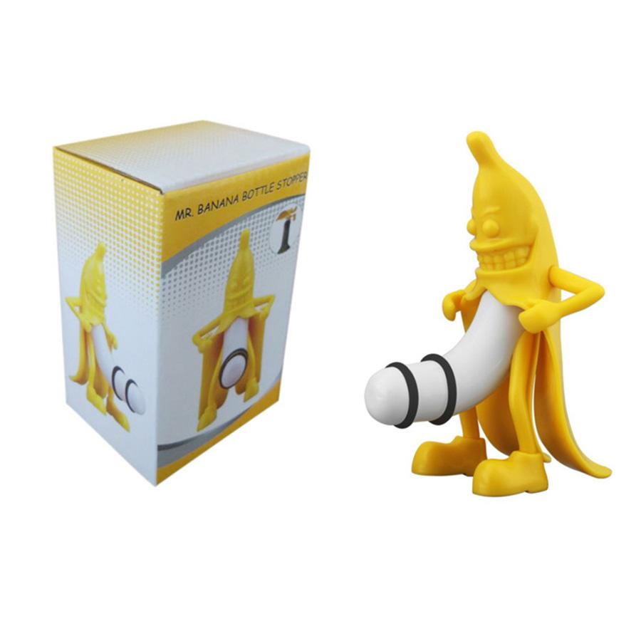 Nút Chai Rượu Vang Vui Nhộn Evil Banana