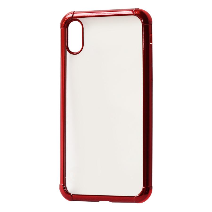 Ốp Lưng Dành Cho iPhone X Viền Màu Chống Sốc KST