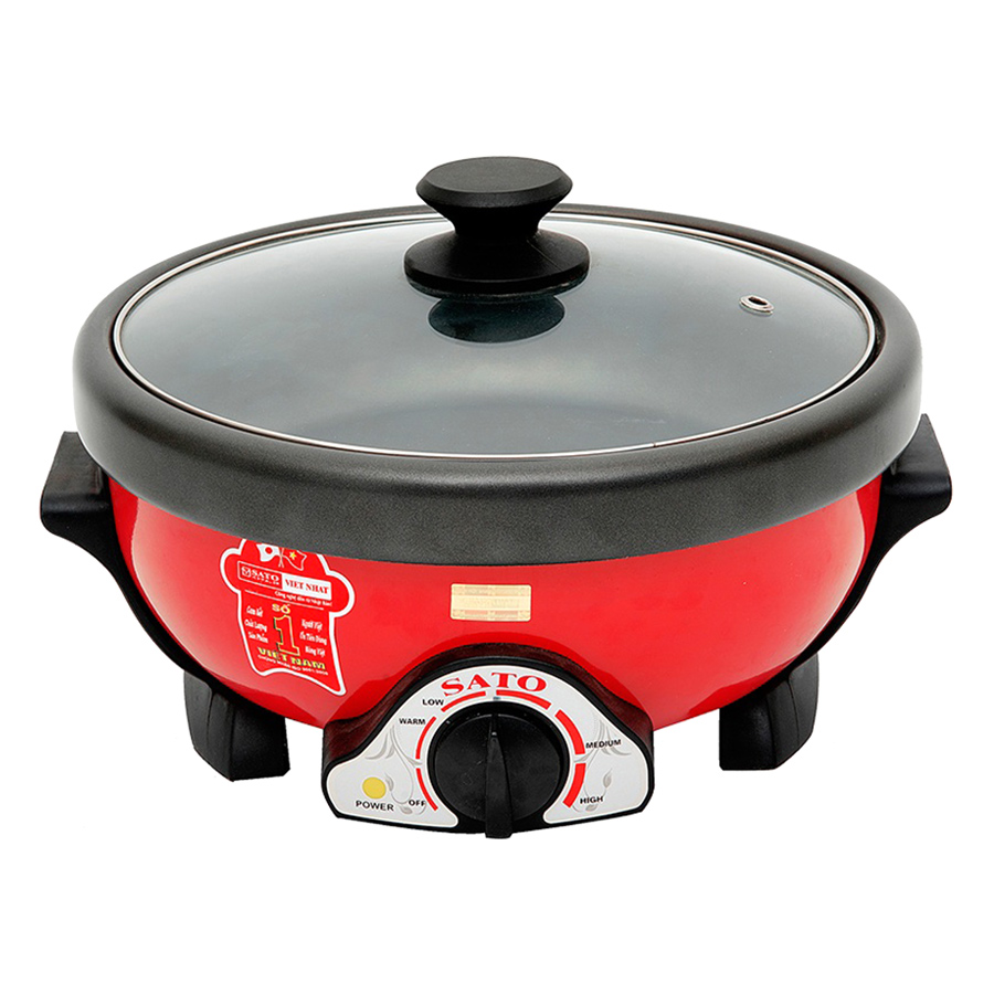Nồi lẩu điện đa năng SATO ST-500HP 5 lít (Màu đỏ) + Tặng Kèm Khay Nướng - 7853977 , 1900559522932 , 62_1045060 , 1150000 , Noi-lau-dien-da-nang-SATO-ST-500HP-5-lit-Mau-do-Tang-Kem-Khay-Nuong-62_1045060 , tiki.vn , Nồi lẩu điện đa năng SATO ST-500HP 5 lít (Màu đỏ) + Tặng Kèm Khay Nướng