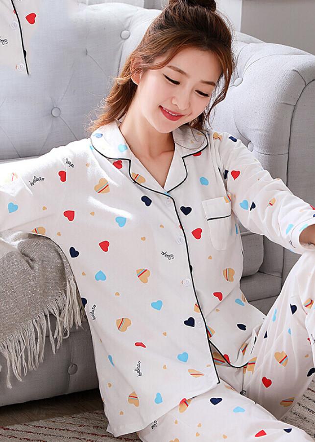 Bộ Ngủ Dài Tay Cho Nữ Bejirog (Size M) - 950459 , 7834694006733 , 62_4911853 , 596000 , Bo-Ngu-Dai-Tay-Cho-Nu-Bejirog-Size-M-62_4911853 , tiki.vn , Bộ Ngủ Dài Tay Cho Nữ Bejirog (Size M)
