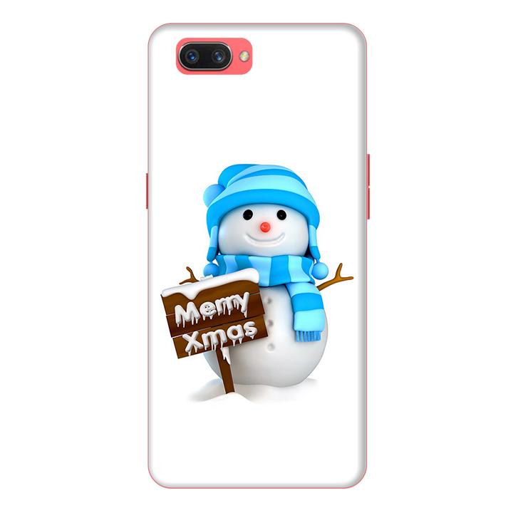 Ốp lưng điện thoại Realme C1 hình Cậu Bé Người Tuyết