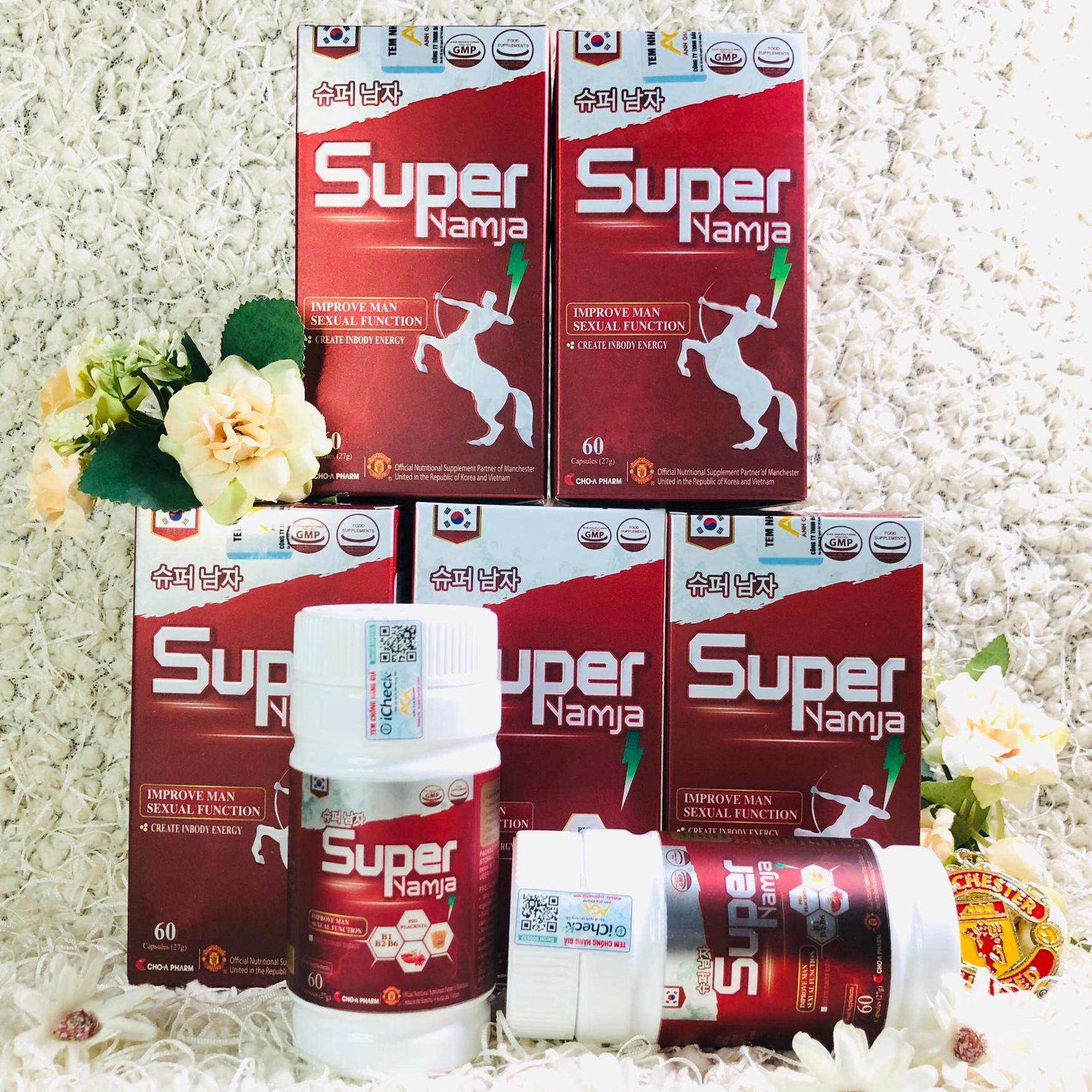 5 Hộp Thực Phẩm Bảo Vệ Sức Khỏe SUPER NAMJA