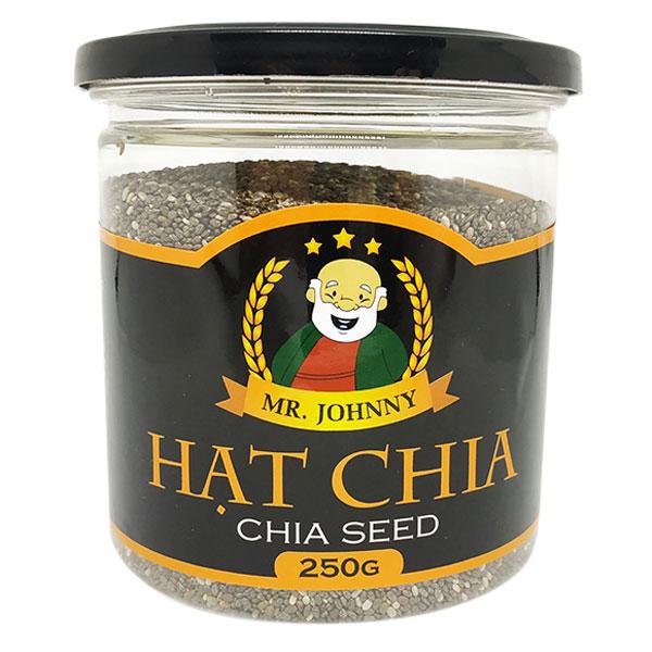 Hạt Chia Đen (Black Chia Seeds) (Hũ / 250 g)