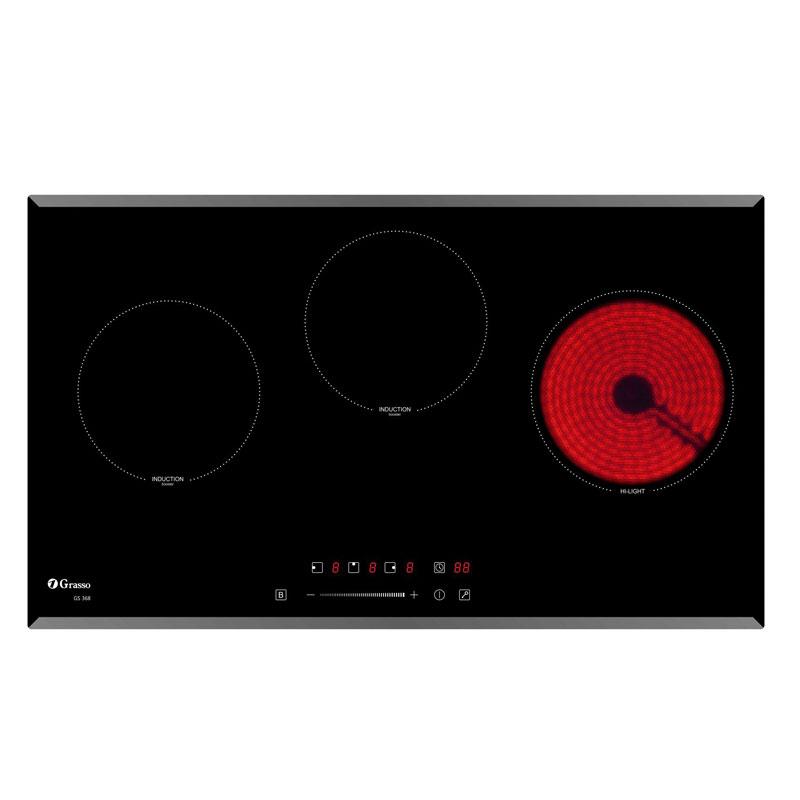 Bếp điện từ 3 vùng nấu GS 368