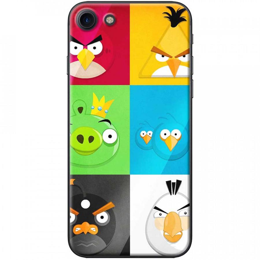 Ốp lưng dành cho iPhone 7 mẫu Angry birds