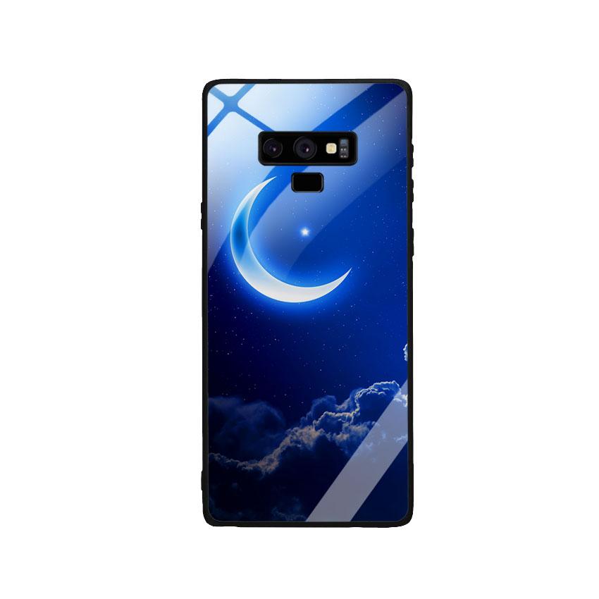 Ốp Lưng Kính Cường Lực cho điện thoại Samsung Galaxy Note 9 -  0220 MOON01