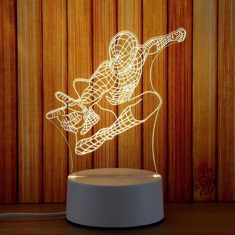 Đèn ngủ, đèn trang trí, Led 3D - 971075 , 2107359044254 , 62_5346917 , 140000 , Den-ngu-den-trang-tri-Led-3D-62_5346917 , tiki.vn , Đèn ngủ, đèn trang trí, Led 3D
