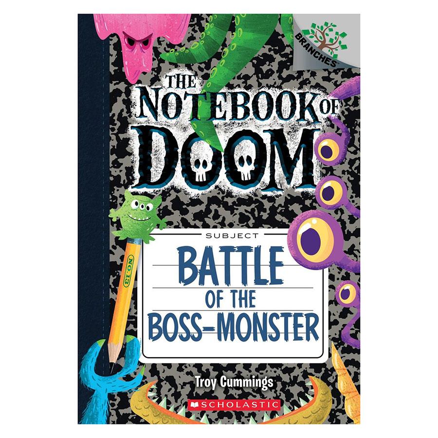 The Notebook Of Doom Book 13: Battle Of The Bossmonster