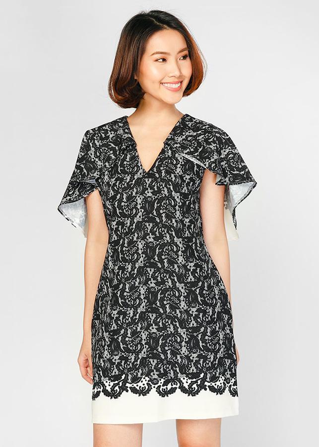Đầm Suông Hàn Quốc Cao Cấp Hoàng Khanh - HK 588