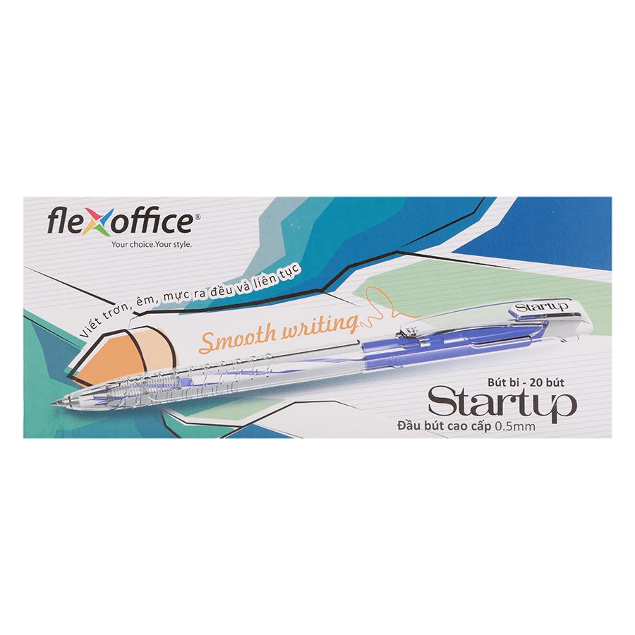 Hộp 20 Cây Bút Bi Flexoffice Startup Fo-039/Vn