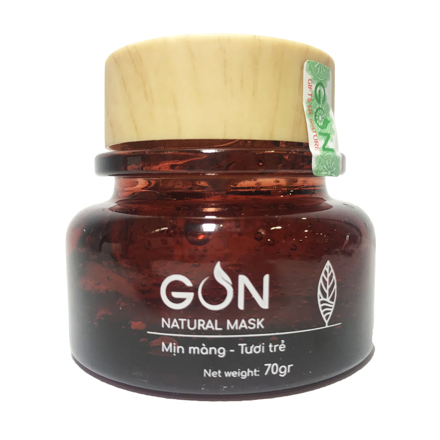 Mặt nạ GON (Hũ 70gr) - Natural Mask