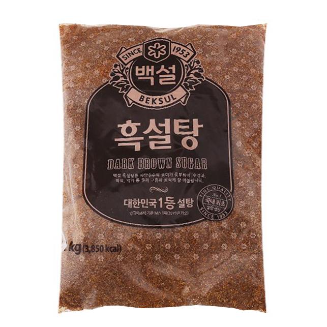 Đường Nâu Đen CJ Hàn Quốc Gói 1kg - Đường Dark Brown Hàn Quốc