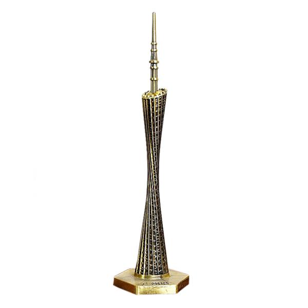 Mô hình tháp Quảng Châu cao 18 cm