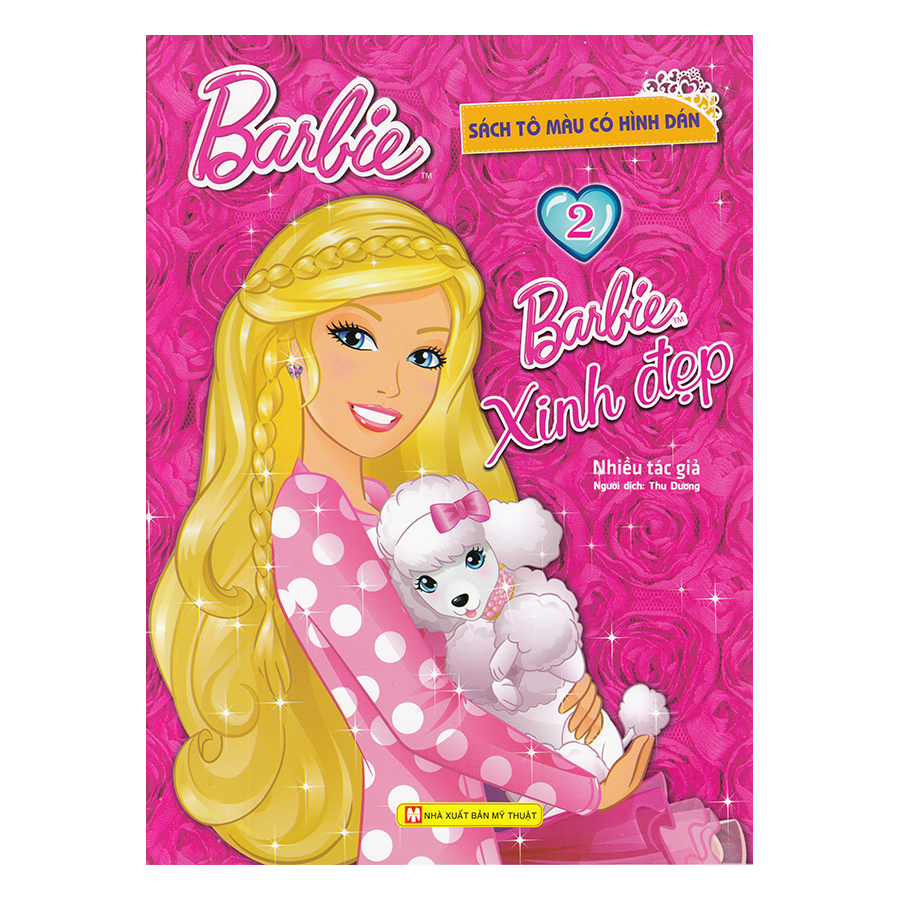 Barbie Xinh Đẹp 2 (Tô Màu Có Hình Dán)
