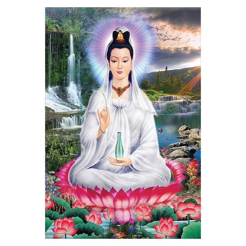 Tranh Phật Giáo Quan Thế Âm Bồ Tát 2327