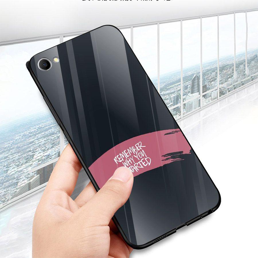 Ốp kính cường lực dành cho điện thoại Oppo F1S/A59 - A71 - A83/A1 - F3/A77 - lời trích truyền cảm hứng - quotes -...