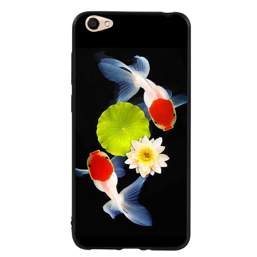Ốp lưng viền TPU cho điện thoại Vivo Y55 - Cá Koi 04