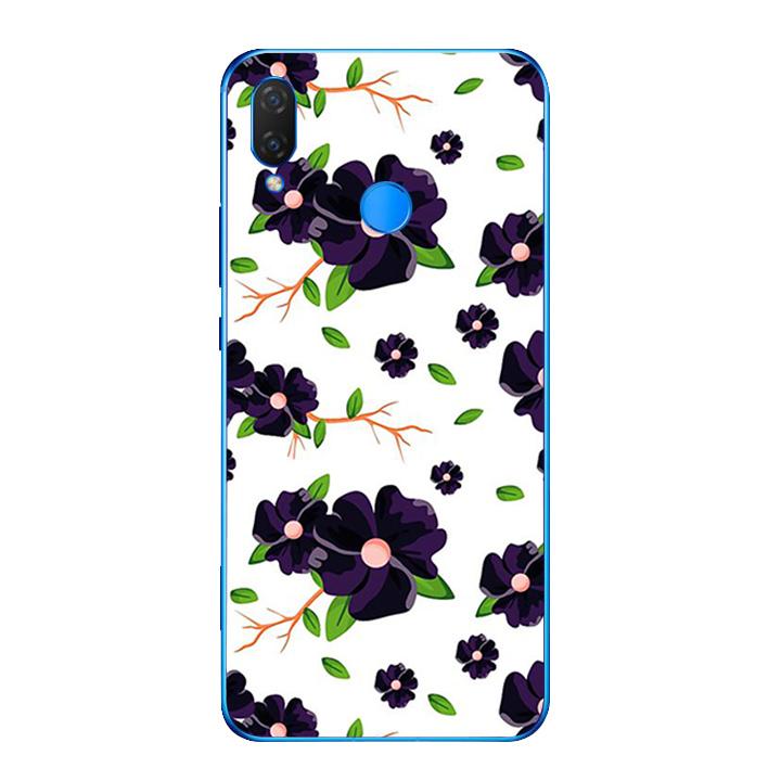 Ốp lưng dẻo cho điện thoại Huawei Y9 2019 - Rose 02