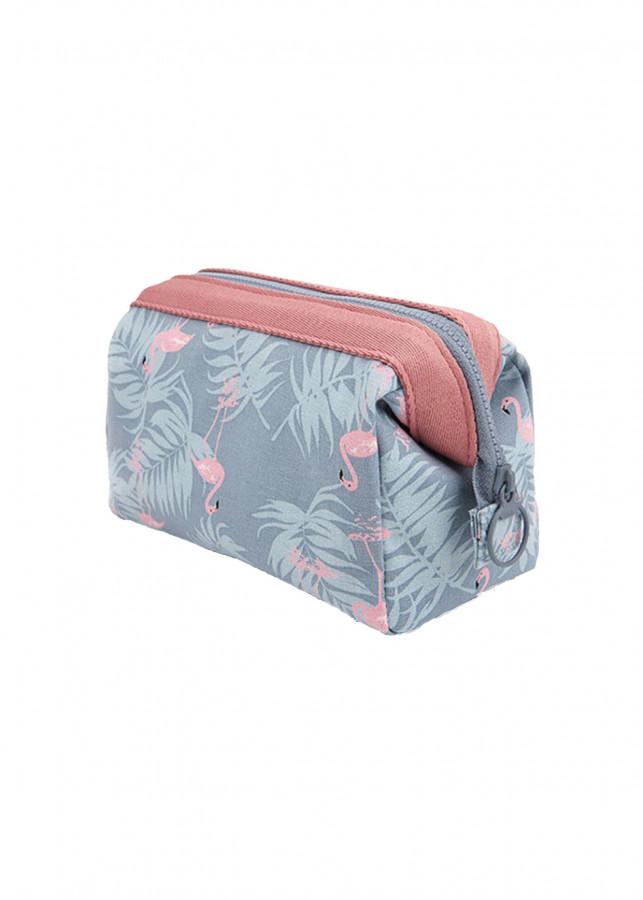 Túi Đựng Đồ Mỹ Phẩm Không Thấm Nước TNTT0106 (18 x 13 x 9 cm) - Xanh nhạt