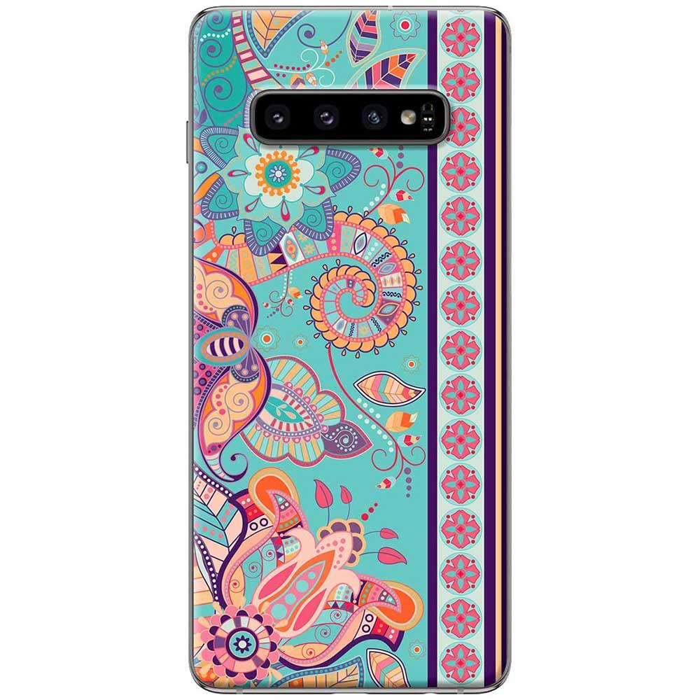 Ốp lưng  dành cho Samsung Galaxy S10 mẫu Họa tiết thảm xanh