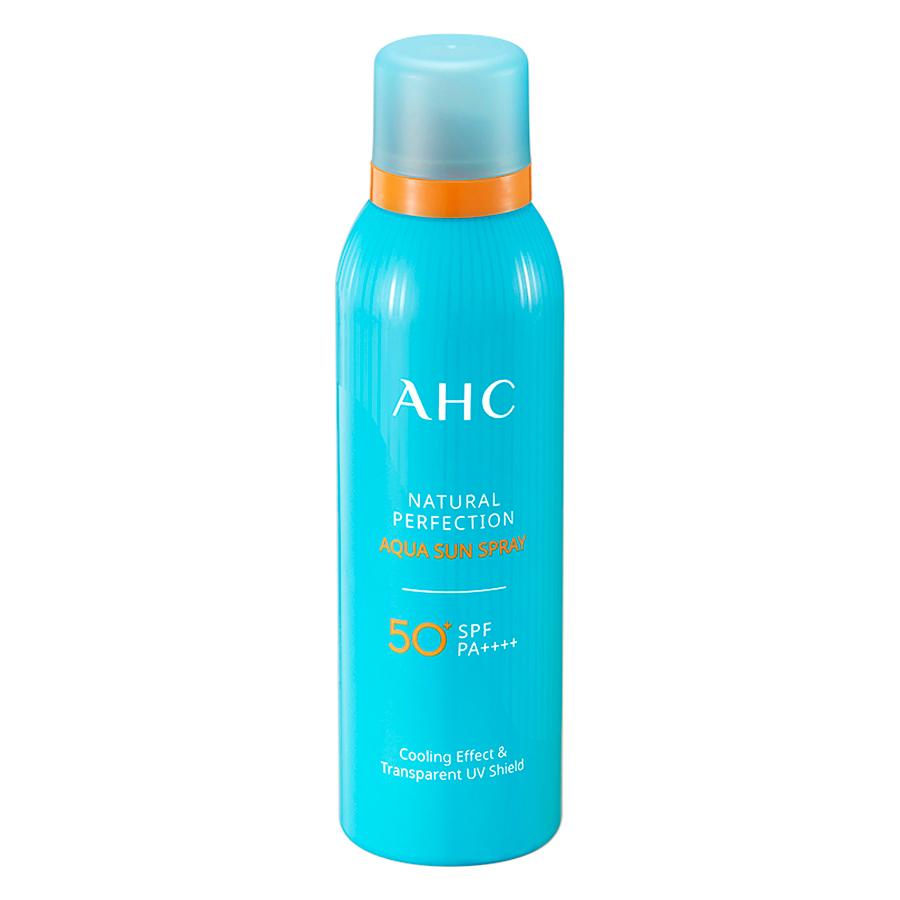Xịt Chống Nắng AHC Natural Perfection Aqua (180ml)