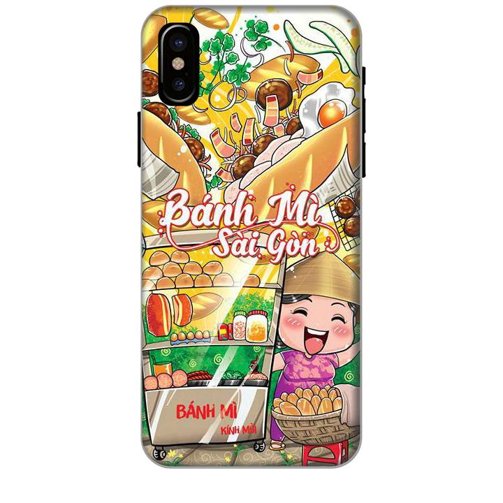 Ốp lưng dành cho điện thoại IPHONE XS hình Bánh Mì Sài Gòn - Hàng chính hãng