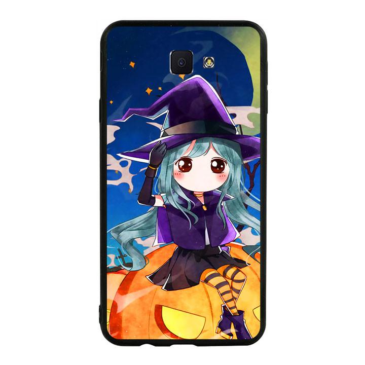 Ốp lưng Halloween viền TPU cho điện thoại Samsung Galaxy J7 Prime - Mẫu 04