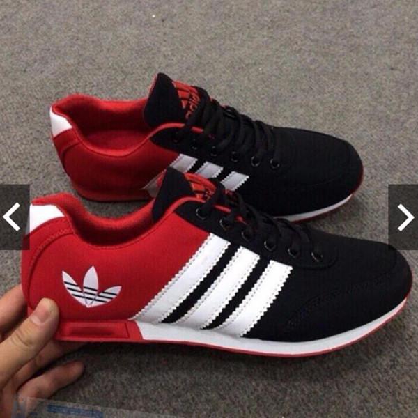 Giày thể thao Das nam (đỏ-đen)